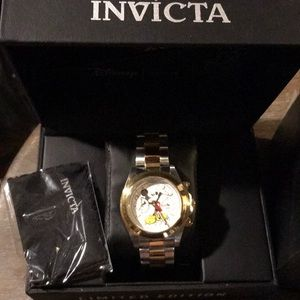 Invicta Unisex Mickey Mouse Limited Edition Watch